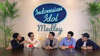INDONESIAN IDOL SECRET PROJECT REVEALED (MEDLEY 5 LAGU JURI IDOL)
