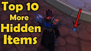 Top 10 More Hidden Items in World of Warcraft