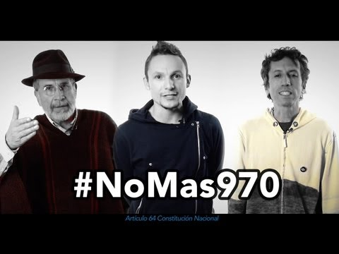 Artistas apoyando al Paro Agrario y Popular - #NoMas970