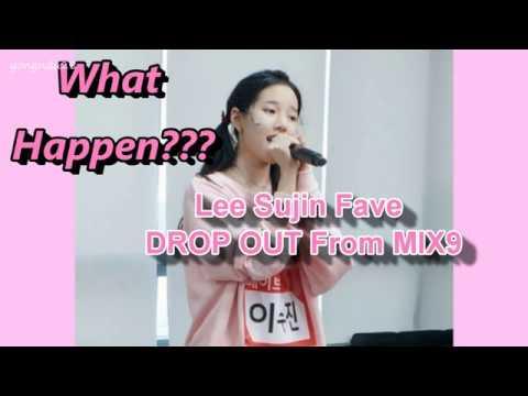LEE SUJIN FAVE LEAVE MIX NINE Survival Show