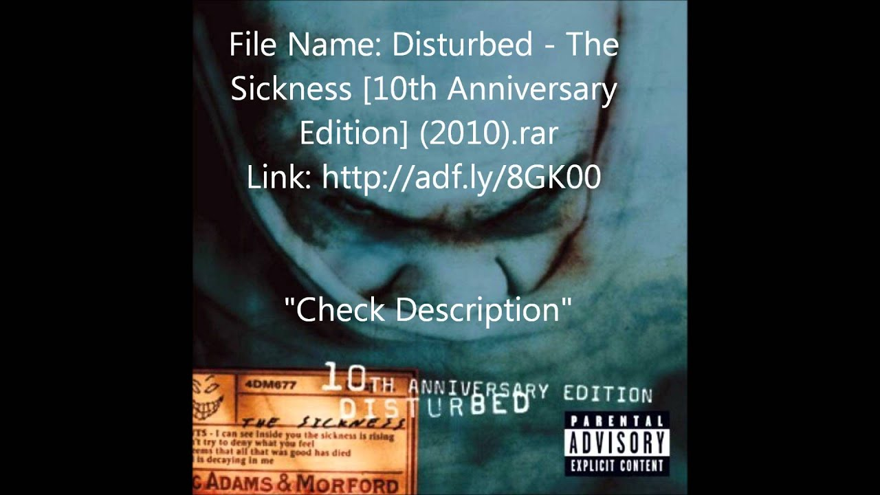 Disturbed the sickness (cd, album) at discogs.