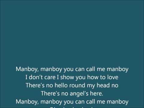 Eric Saade - Manboy acoustic lyrics