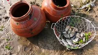 Believe This Fishing Technique? New Fish Trap to Catch a lot of Fish
