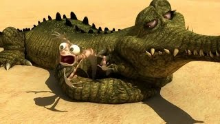 vuclip Oscar's Oasis 2015 - Oscar's Oasis Cartoon - Fight With Crocodile