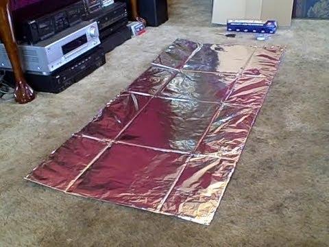 Simplest Solar Cooker Ever! (cardboard