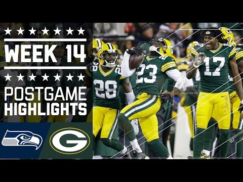 Seahawks vs. Packers | NFL Week 14 Game Highlights