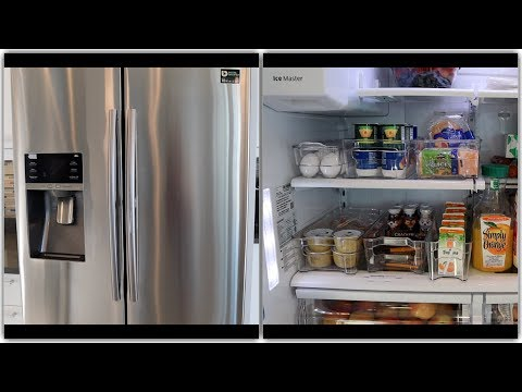 Fridge Organization and Cleaning  -  Indian Canadian Family