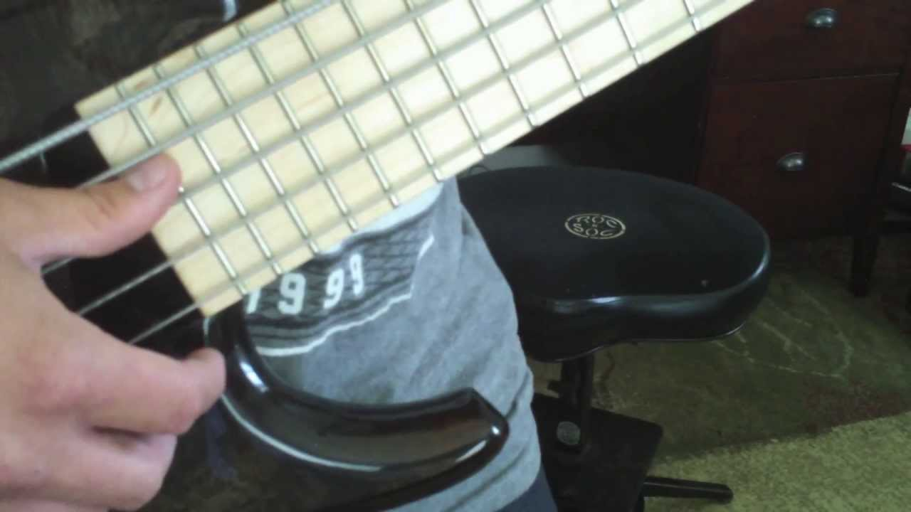 double thumb slap bass la bella white nylon strings youtube. Black Bedroom Furniture Sets. Home Design Ideas