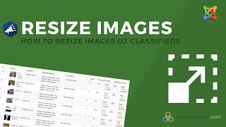 How to resize images DJ-Classifieds