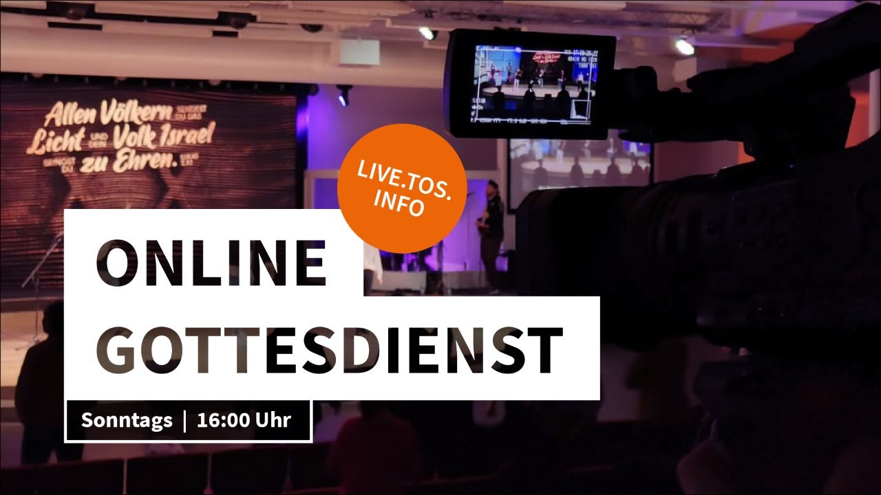 TOS Church Service 🇬🇧 – Welcome to the livestream