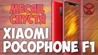 Xiaomi Pocophone F1. Месяц спустя. Занавес / Арстайл /