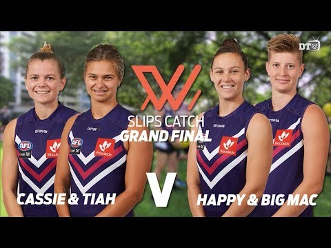 AFLW: Slips catch game