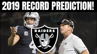 Oakland Raiders Team Preview. How Many Games Will The Raiders Win?