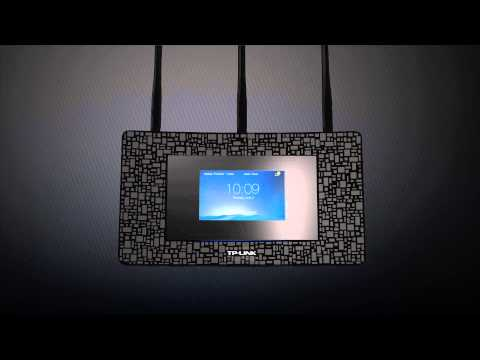 TP-Link Touch P5 AC1900 Touchscreen Wi-Fi Gigabit Router
