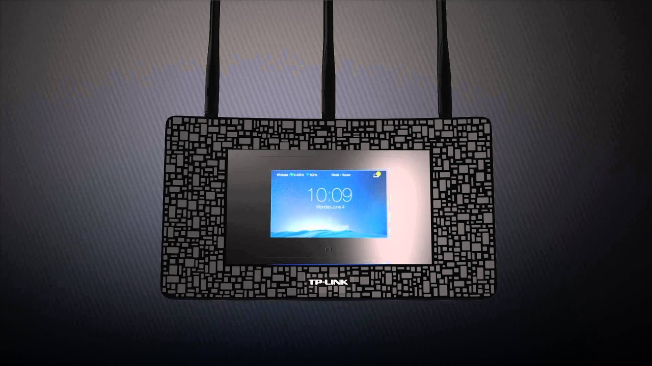 Tp Link Touch P5 Ac1900 Touchscreen Wi Fi Gigabit Router