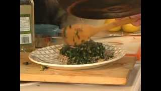 One Pot Cook Book - Buckwheat Groats With Sauteed Kale, Red Onion And Garlic