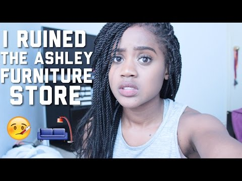 STORYTIME// I RUINED THE ASHLEY FURNITURE STORE