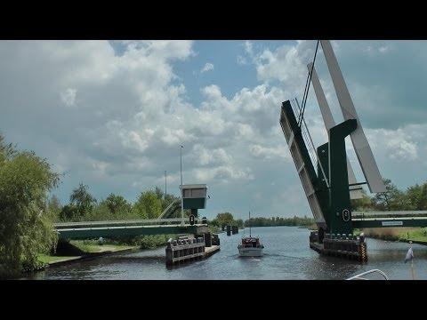 """Friesland 2012 -  Die Bootstour mit der """"AURORA"""" auf Frieslands Wasserstrassen"""