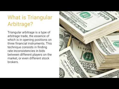 Triangular arbitrage: what is it?