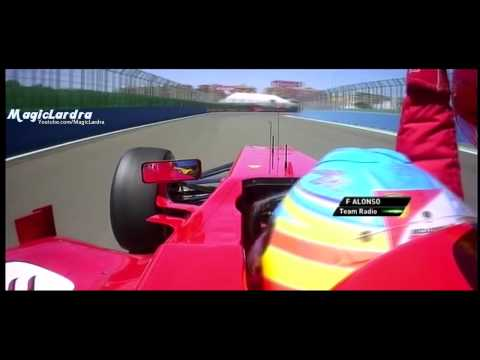 Valencia 2012 | Fernando Alonso Team Radio