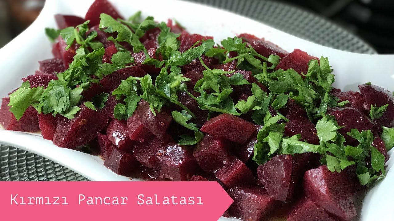 Lezzetli Pancar Salatası Nasıl yapılır? - Nefis Yemek Tarifleri