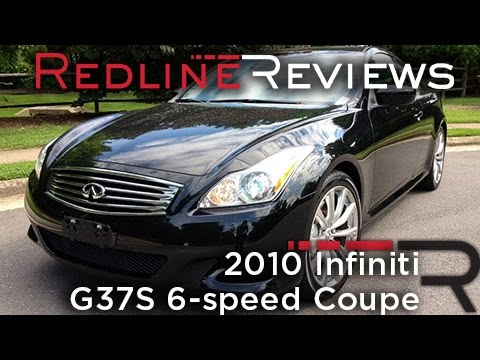 2010 infiniti g37s 6 speed coupe review walkaround. Black Bedroom Furniture Sets. Home Design Ideas