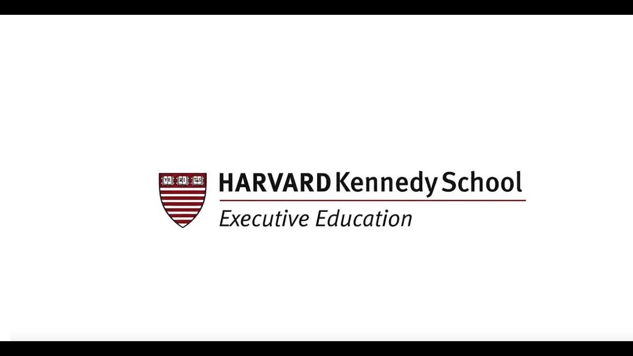 A Harvard University Guide To Executive >> Executive Education Harvard Kennedy School