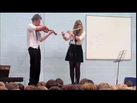 Bad Romance  Flute and Violin