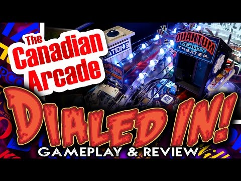 Dialed In Pinball by Jersey Jack Pinball - Game Play & Review from YEGPIN 2017