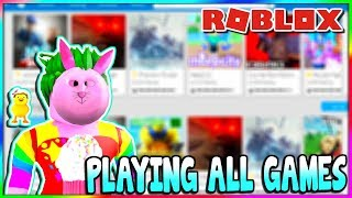 CURRENTLY PLAYING UNIT 1968 | PLAYING ANY GAMES | ROBLOX STREAM WITH VIEWERS
