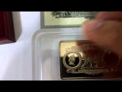 Review on Singapore Mint 1994 Straits settlement silver ingot