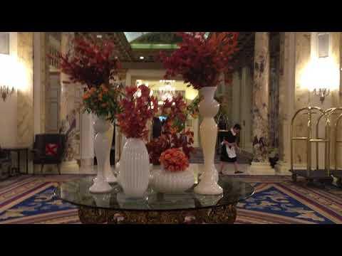 lobby fairmont copley plaza boston