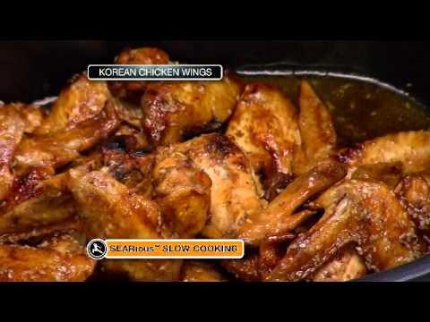 Ninja Cooking System Crockpot Chicken Wings Youtube