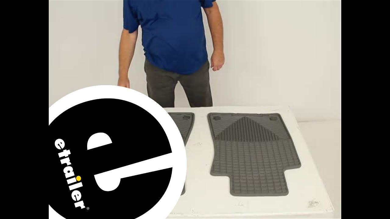 Weathertech floor mats bmw x1 - Review Of Weathertech Floor Mats Wtw37gr Etrailer Com