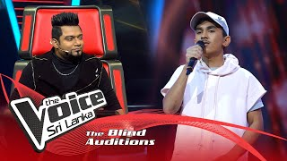 Malshan Meerasinghe - Obe Sina Langa ( ඔබේ සිනා ළඟ ) | Blind Auditions | The Voice Sri Lanka Thumbnail