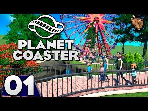 """Planet Coaster #01 """"Um parque incrível"""" - Gameplay Vamos Jogar Português PTBR"""