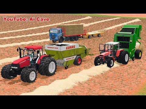 New Baling Technologies, Tractors & FLIEGL DPW - Farming Simulator 2017 Mods