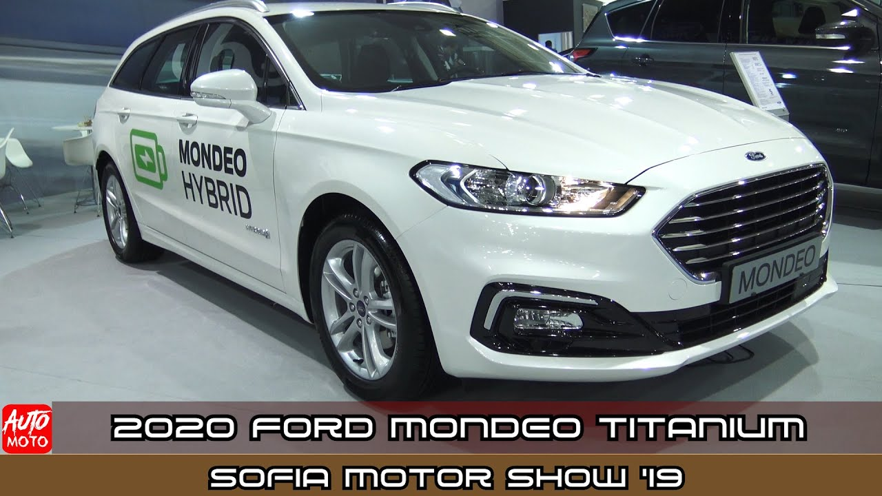 2020 Ford Mondeo Titanium 5w 2 0 Hybrid Exterior And Interior
