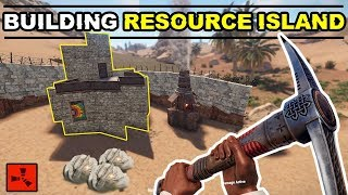 Gambar cover Starting My BEST SOLO BASE On A RESOURCE RICH ISLAND!! - RUST SOLO