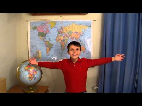 All about the UNITED STATES from Geo Justin!  Child geography lesson