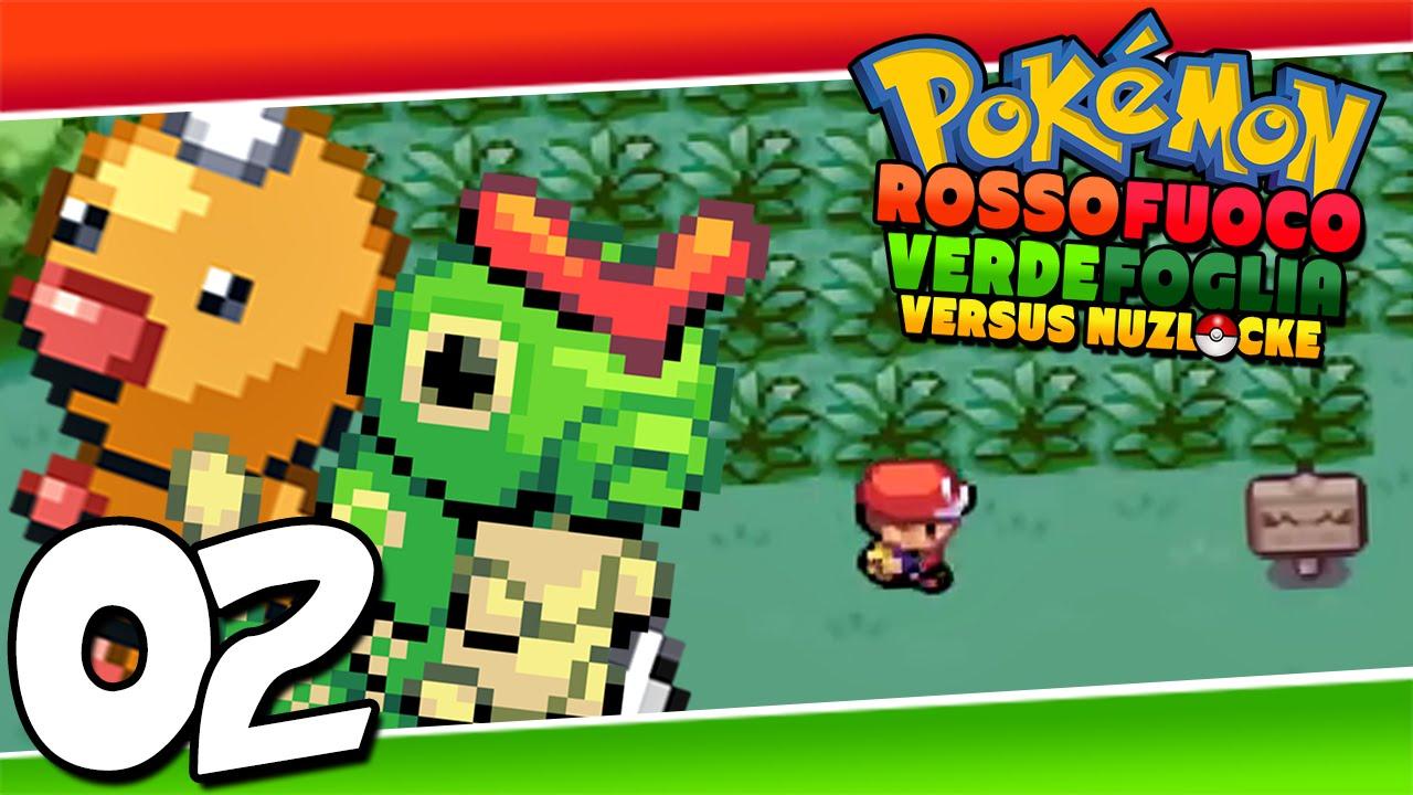 pokemon rosso fuoco verde foglia