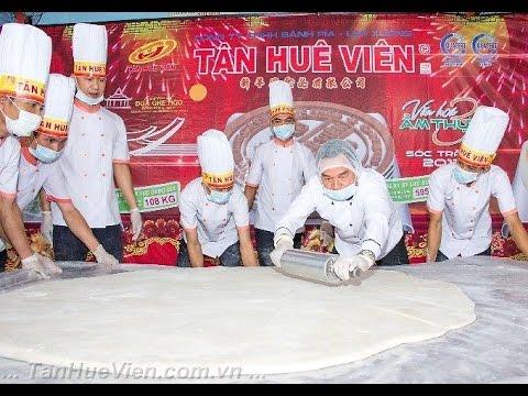Tân Huê Viên – Quá trình sản xuất Bánh Pía kỷ lục 2013