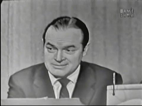 What's My Line? - Clifton Fadiman host; Bob Hope; Cesar Romero [panel] (Apr 13, 1958)