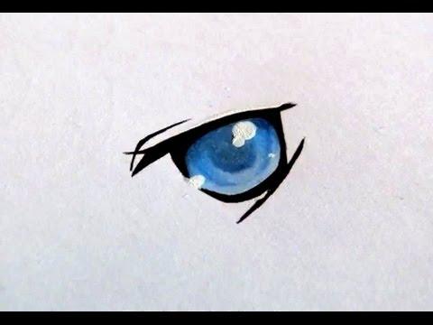 TUTORIAL: Wie coloriere ich ein Manga-Auge mit Copics ...
