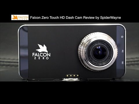 Dash Cam Falcon Zero Touch HD  Review By SpiderWayne