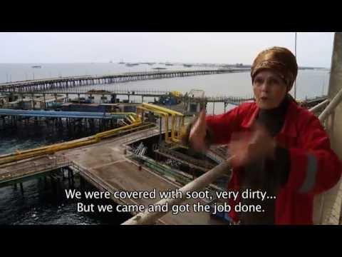 OIL ROCKS - CITY ABOVE THE SEA / Film clip no. 3