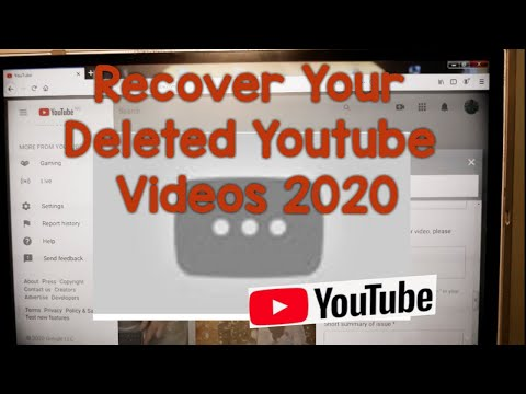 How To Recover Deleted Videos On YouTube (2020) Without YouTube Partner Program Eligibility | Legit