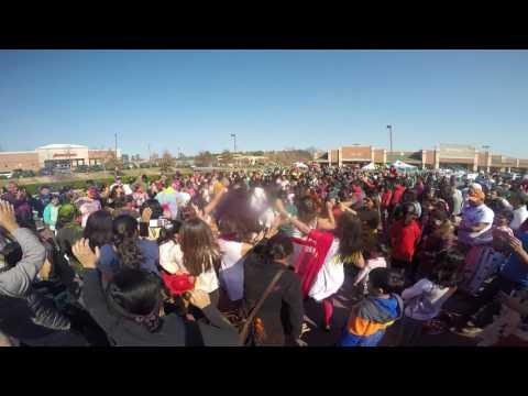 Walmart & NC DOC Holi 2017 - Morrisville NC
