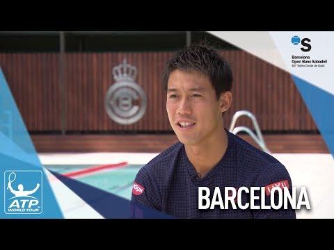 Nishikori Looks Forward To Barcelona 2018 Campaign