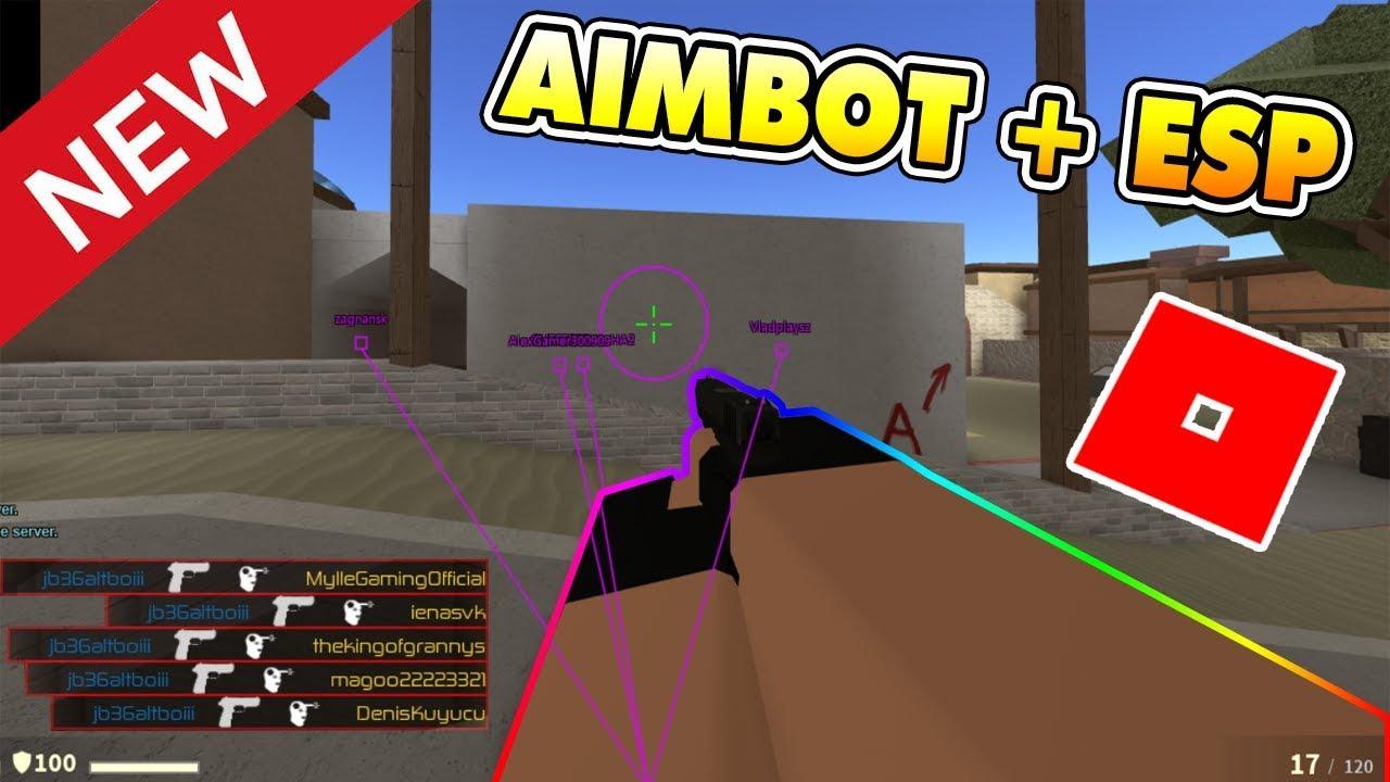 New Roblox Hackscript Cbro Aimbot Esp Hack New Aimbot And Esp Script In Counter Blox Op Script Roblox Youtube